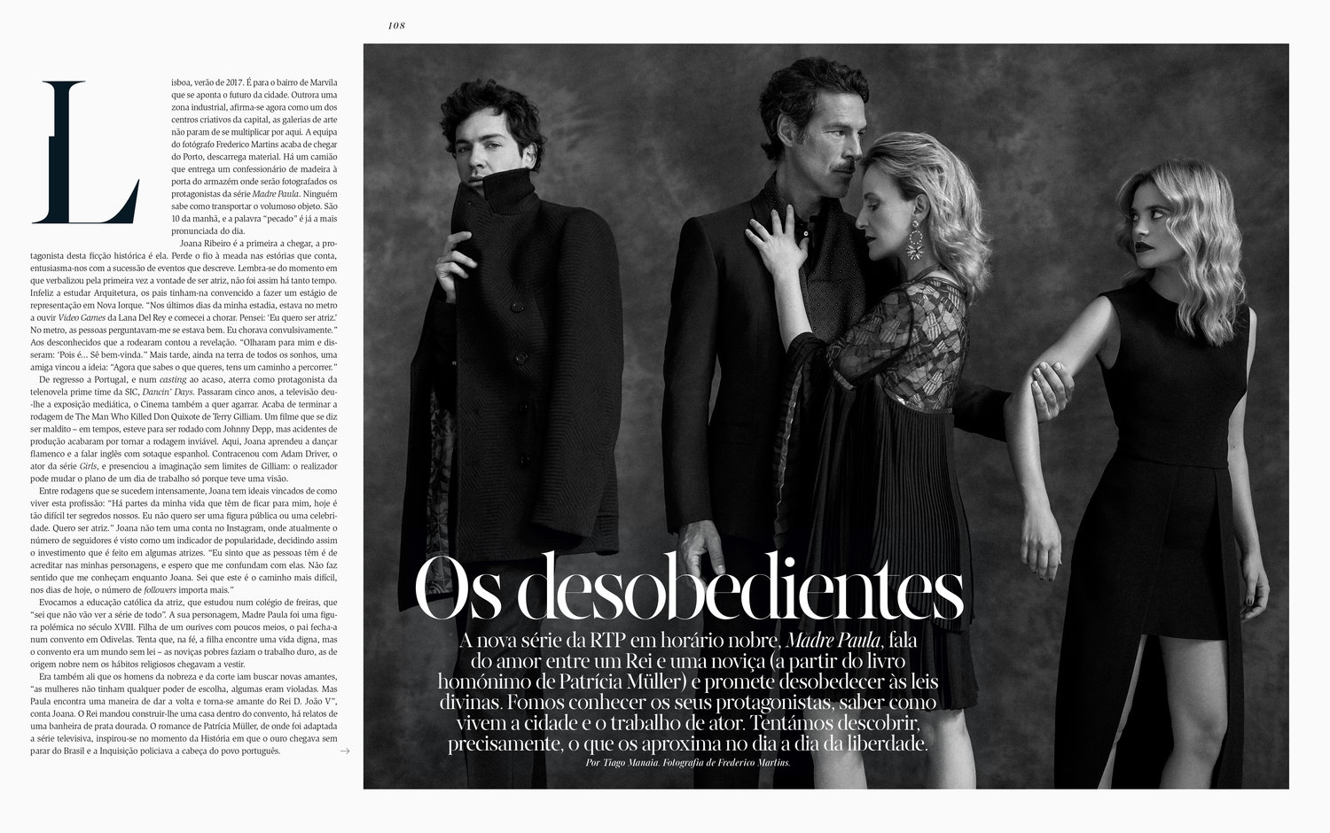VOGUE PORTUGAL - August Issue - Os Desobedientes — FREDERICO MARTINS